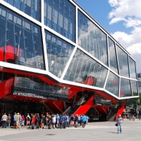 Ondrej Nepela Ice Hockey Arena in Bratislava – Vodaservis' client during the Ice Hockey World Championship in 2011.