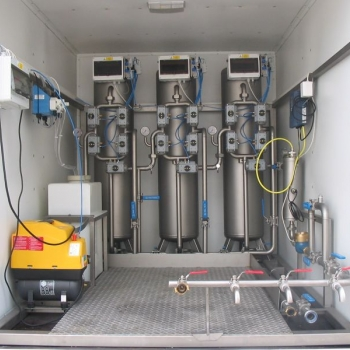 UMUV Mobile Water Treatment Plant.